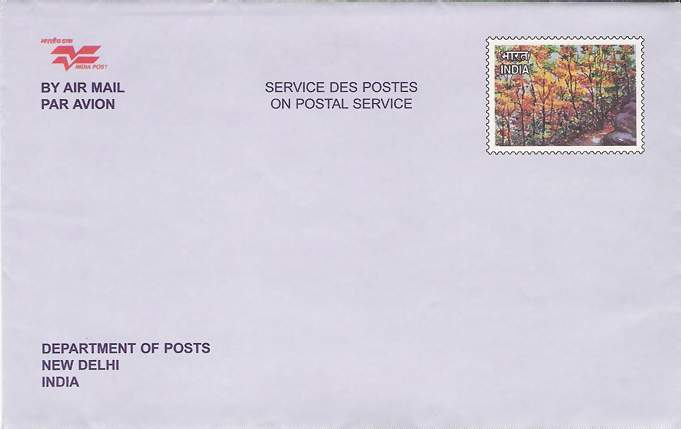 Letter Envelope Format India. Customized Postal Stationery